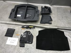 ★GSE20 レクサス IS 250 バージョンL 平成19年 純正 トランク内 ラゲッジトレー 車載工具 工具/ジャッキ/袋/トレー一式 set★