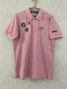 MASTER BUNNY EDITION ポロシャツ サイズ4 メンズ マスターバニーエディション パーリーゲイツ PEARLY GATES GOLF ゴルフ