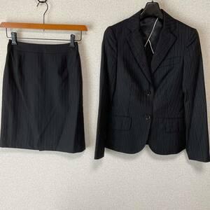 スーツカンパニー 36 W64 スカートスーツ 未使用に近い DMW