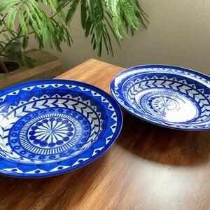 ブルーアラビアン 2枚セット テーブルコレクション