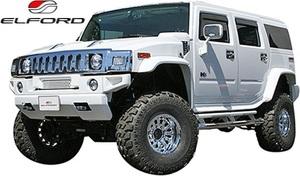 【M's】 ハマー HUMMER H2 (2002y-2010y) ELFORD オーバーフェンダー タイプ1 (6ピース) // FRP エルフォード ワイドフェンダー エアロ