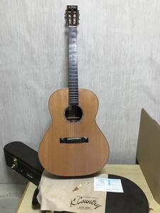 K-COUNTRY LED151rs 神戸 リードマン ギター オール単板 カタログ搭載個体 良個体 オリジナル ハードケース付