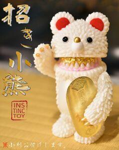 【レア】INSTINCTOY mini Muckey 1st color 招き小熊 中古品 ソフビ ミニ ムッキー