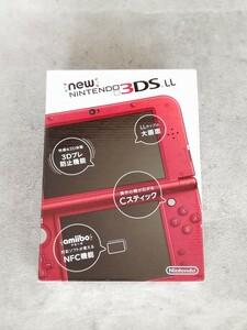 新品 new ニンテンドー 3DS LL メタリック レッド 任天堂 希少品