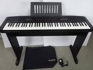 中古 CASIO 電子ピアノ Piacere CPS-7 76鍵 2001年製 スタンド付 ACアダプター付 カバー付 ピアチェーレ デジタルピアノ カシオ