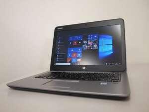 ■068/第6世代/HP/CT Notebook PC/EliteBook 820 G3/Corei3-6100U/メモリ8GB/SSD128GB/WIN10/WEBカメラ/(2021-0528-068)■