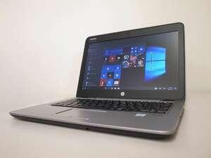 ■081/第6世代/HP/CT Notebook PC/EliteBook 820 G3/Corei3-6100U/メモリ4GB/500GB/WIN10/WEBカメラ/(2021-0528-081)■