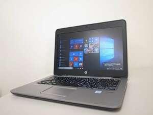 ■067/第6世代/HP/CT Notebook PC/EliteBook 820 G3/Corei5-6300U/メモリ8GB/SSD128GB/WIN10/WEBカメラ/(2021-0528-067)■