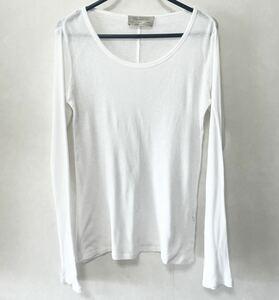 ZARA ザラ コットン ロングTシャツ ホワイト カットソー