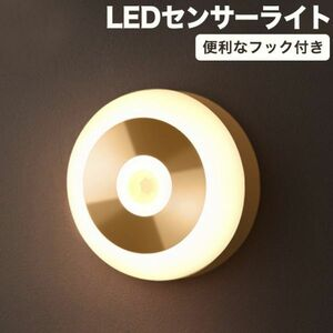 進化版 フック付きLEDセンサーライト 充電式 マグネット 磁石付き ナイトライト 屋内 led照明 小型 常夜灯 玄関 階段 廊下