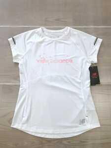 送料無料 new balance SAKURA NB ICE AWT9100Y レディース S ニューバランス グラフィックW 半袖 Tシャツ ランニング ジョギング