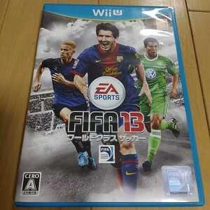 WiiU FIFA 13 ワールド クラス サッカー EA SPORTS 中古 動作確認済 ウイニングイレブン ウイイレ オリンピック カップ