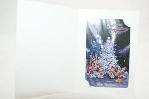 ディズニーテレカ 東京ディズニーランド TDL 1997年 クリスマス 未使用品