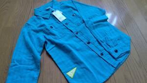 BREEZE 長袖 シャツ サイズ 140 新品 タグ付き 男の子 グリーン系