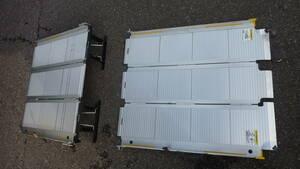 レア 介護 福祉 段差 トヨタ NTP10 ジャパンタクシー 車椅子 乗降用 スロープ 折りたたみ式 スロープ板 耐荷重 200kg