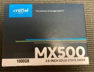 Crucial 内蔵SSD MX500 1TB SATA 2.5インチ
