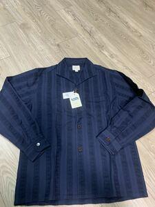 フェローズ PHERROW'S シャツ 長袖シャツ ネイビー 20S PLIS1 新品 未使用