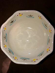 陶器 八角小鉢華