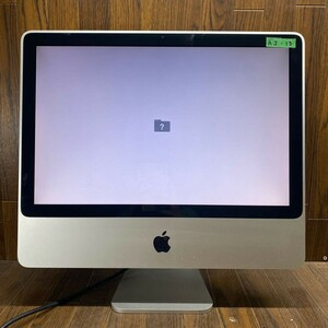 AJ-13 激安 iMac一体型 iMac 20インチ A1224 Core 2 Duo HDD.メモリ無し 未清掃 起動確認済み 液晶不良 画面乱れあり ジャンク