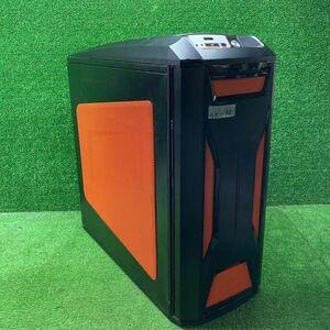 GK-63 激安 自作PC ケース ATX 通電確認のみ ジャンク