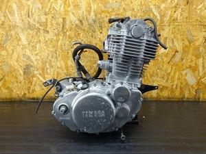 【210616】SR400(1JR-303)■ 中古エンジン 始動確認後取り外し!! ジェネレーター ※検:SR500 1JN