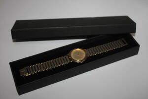 【 良品 】 ◆ Yves Saint Laurent / イヴ・サンローラン ◆   ラウンド  2針   メンズ腕時計  箱入