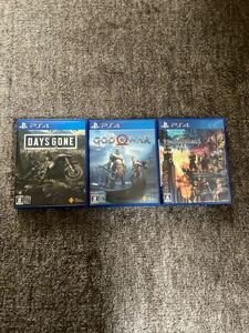 PS4ソフト3店セット