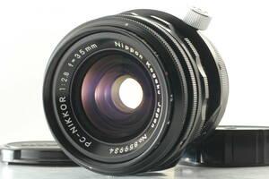 ◆極美品◆ ニコン NIKON PC-NIKKOR 35mm F2.8 広角 単焦点 マニュアル シフト レンズ 一眼レフ フイルムカメラ
