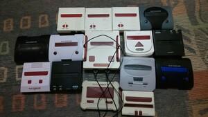 【日曜セール】FC 大量 ファミコン ネオファミ互換機 まとめ売り 本体 コントローラー ジャンクゲーム内蔵 部品取り