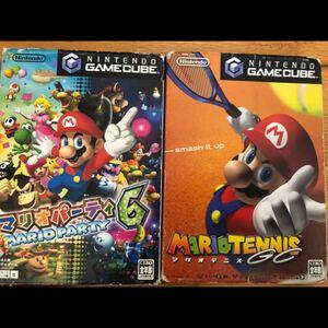 ゲームキューブ 2点 マリオパーティ6  マリオテニス 【動作確認済み】