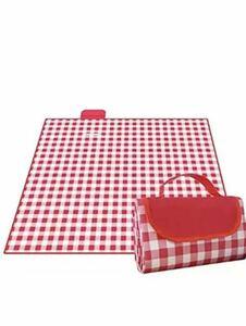 レジャーシート ピクニックシート 4~8人 折りたたみ 用 150X200cm赤