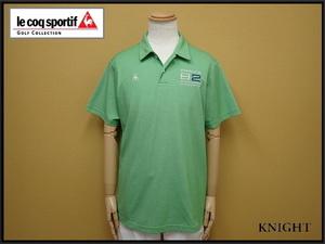 送料無料 le coq sportif GOLF COLLECTION ポロシャツ・LL◆ルコックゴルフ/大きいサイズ/21*7*1-2