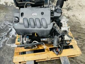 動作OK 20年 日産 セレナ  C25/CC25/CNC25 純正 MR20DE エンジン/ オートマミッション 2WD