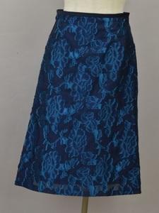 ユナイテッドアローズ UNITED ARROWS green label relaxing スカート 38サイズ ネイビー レディース j_p F-M12210