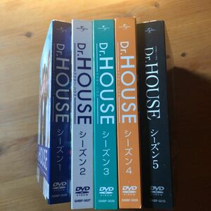 Dr.HOUSE  DVD-BOX 1〜5