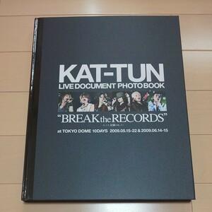 美品☆未読☆初版【KAT-TUN LIVE DOCUMENT PHOTO BOOK】フォトブック 写真集