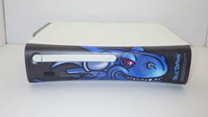 3/ Xbox360 本体 HDMI 250GB HDD / ブルードラゴン フェイスプレート ◆動作品 14062
