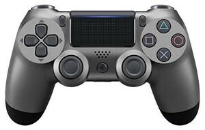 最新版 PS4 ワイヤレス コントローラー メタリックブラック プレステ4 互換品