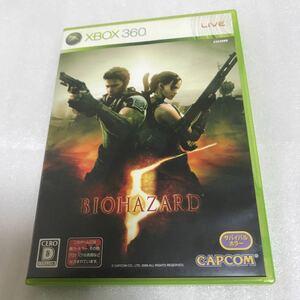 XBOX360 ソフト バイオハザード 5 BIOHAZARD 5