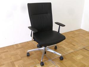 KOKUYO オフィス チェア PUNTO CRS-G2422F6 ⑤ W660×D660×H960~1050mm 肘掛 デスク オフィス 会社 回転 イス ブラック プント コクヨ