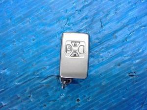H20 ノア ヴォクシー ZRR70W ZRR75G 70 純正 キーレス キーフリー スマートキー 鍵 左のみパワースライドドア付用 3ボタン 割れ無 作動OK①