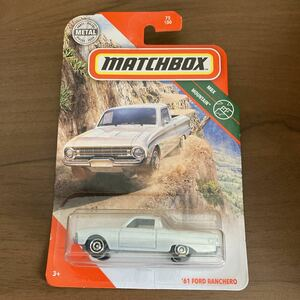 マッチボックス MATCHBOX '61 FORD RANCHERO フォード ランチェロ