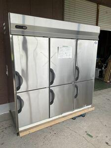 未使用 長期保管品 サンヨー パナソニック 業務用冷蔵庫 大型冷蔵庫 6枚扉 縦型冷蔵庫 1800×800×2000 3相200V 開封品 1793L
