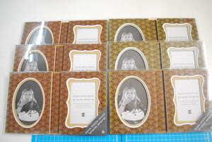 【ジャンク品、色褪色】17個セット BOOK PHOTO FRAME ブラウン ブルー ピンク Z&K BOOKPHOTOFRAME49・244等 フォト アルバム 写真