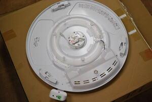 【ジャンク品 】【セード割れ、リモコン不良】瀧住電機 GSX80095 [LEDシーリングライト 調光 調色 リモコン付き エコセンサー搭載 8畳用]