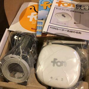 【新品未使用未開封】fon Wi-Fi 無線LAN ルーター ZGP155 FON2405E