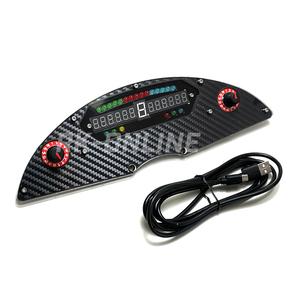 FANATEC ファナテック CSW対応SRH製Pro-Race SLI マルチメーター カーボン調モデル シフトインジケーター・情報表示・ロータリースイッチ付