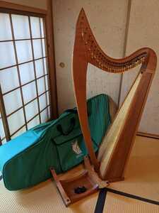 アイリッシュハープ 29弦 ロレインJ ストーニーエンド STONEYEND