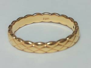 15号 純金 指輪 K24 イエローゴールド 足金999 Au999 鑑定書付き リング 24金 シンプル