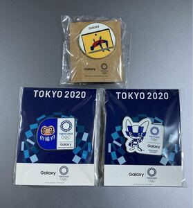 Galaxy ピンバッジ オリンピック 東京 オリンピックピンバッジ ノベルティ非売品ミライトワ